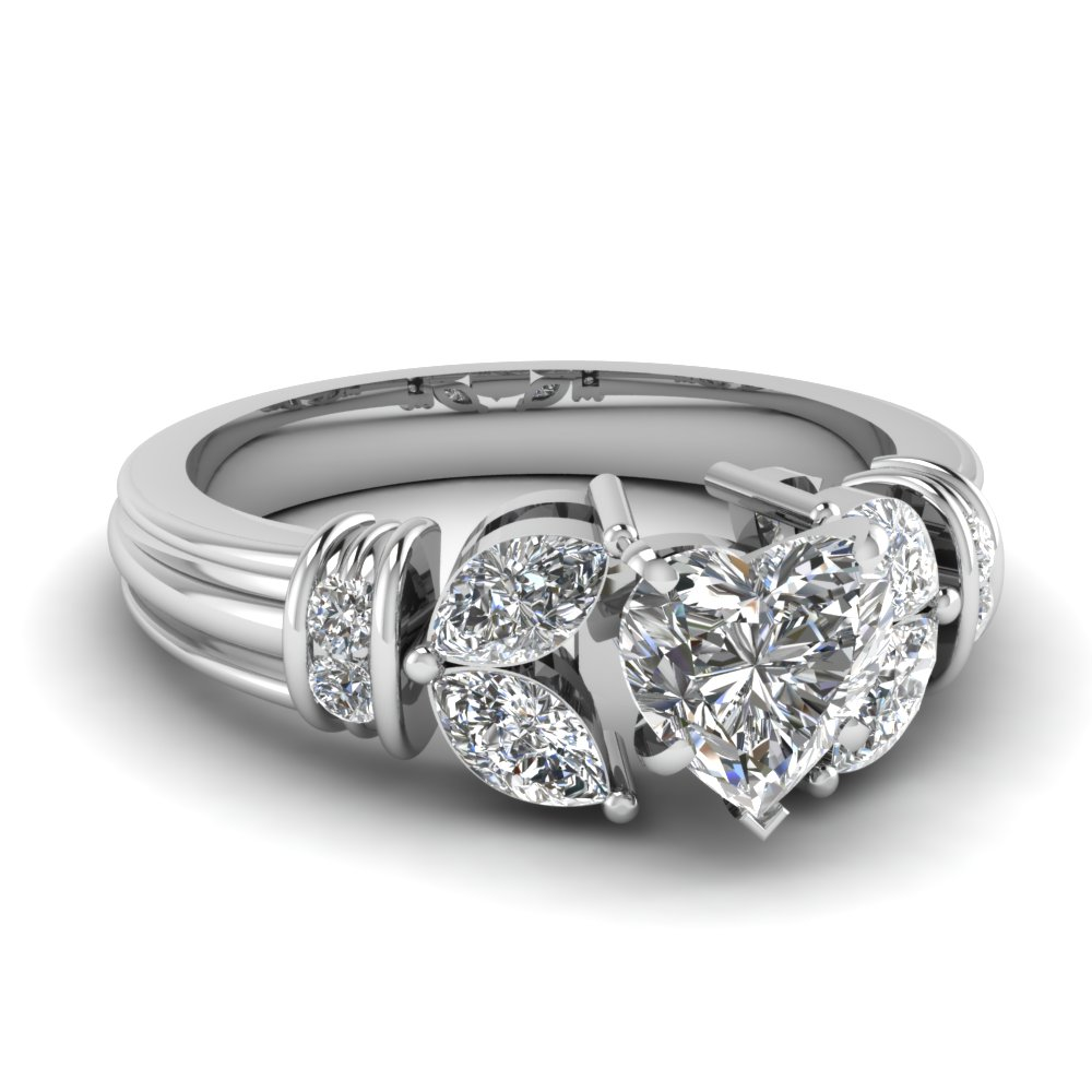 1.50 ct. diamond vintage petal heart shaped engagement ring in FDENR2112HTR NL WG.jpg