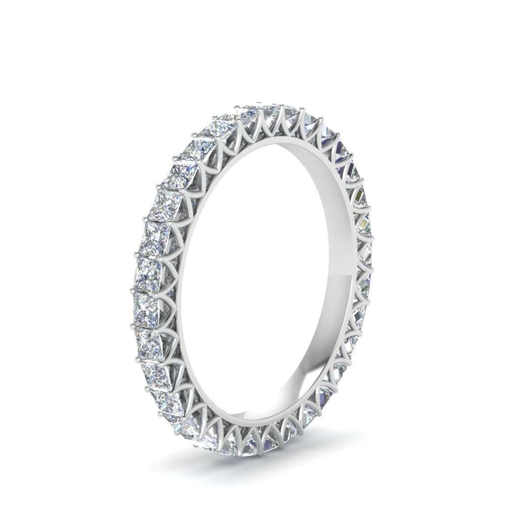 2 Ct. Diamond Eternity Wedding Band