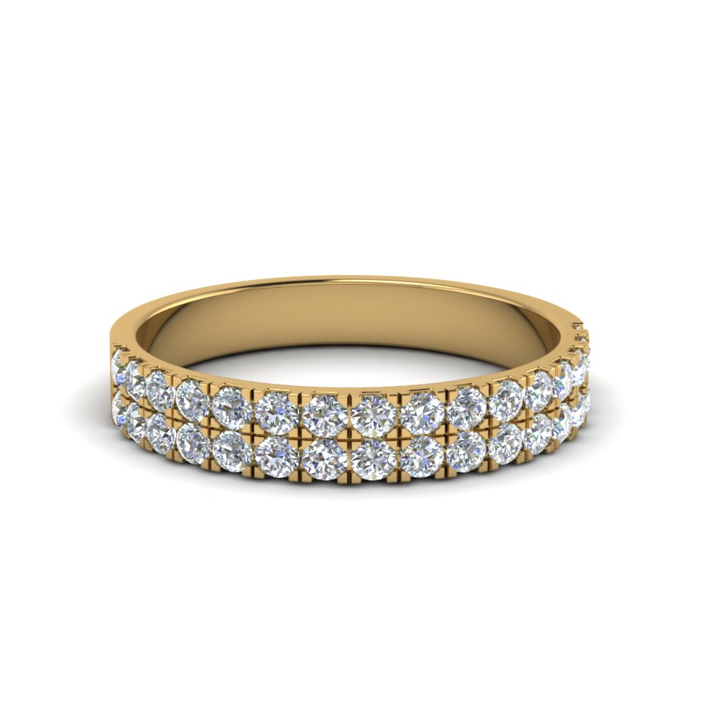 Double Row Diamond Band (0.40 Ct.)