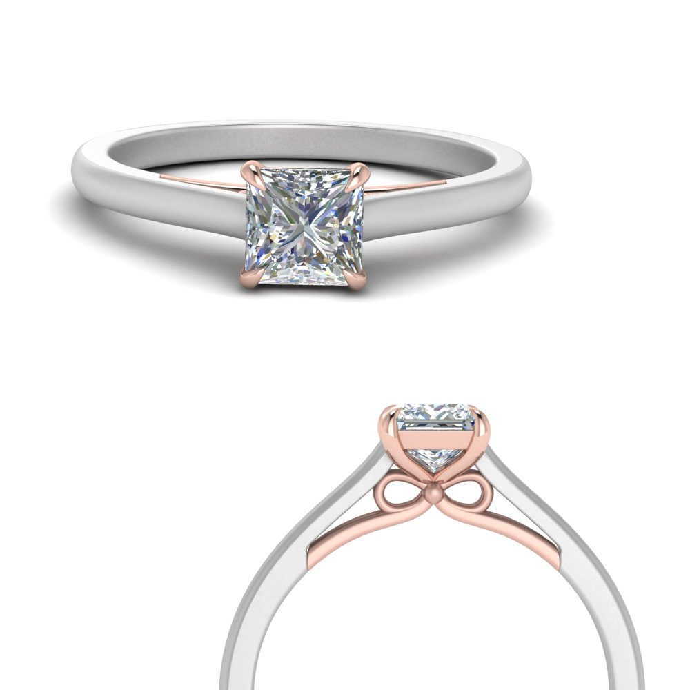 2-tone-bow-princess-cut-solitaire-diamond-ring-in-FD123453PRRANGLE3-NL-WG