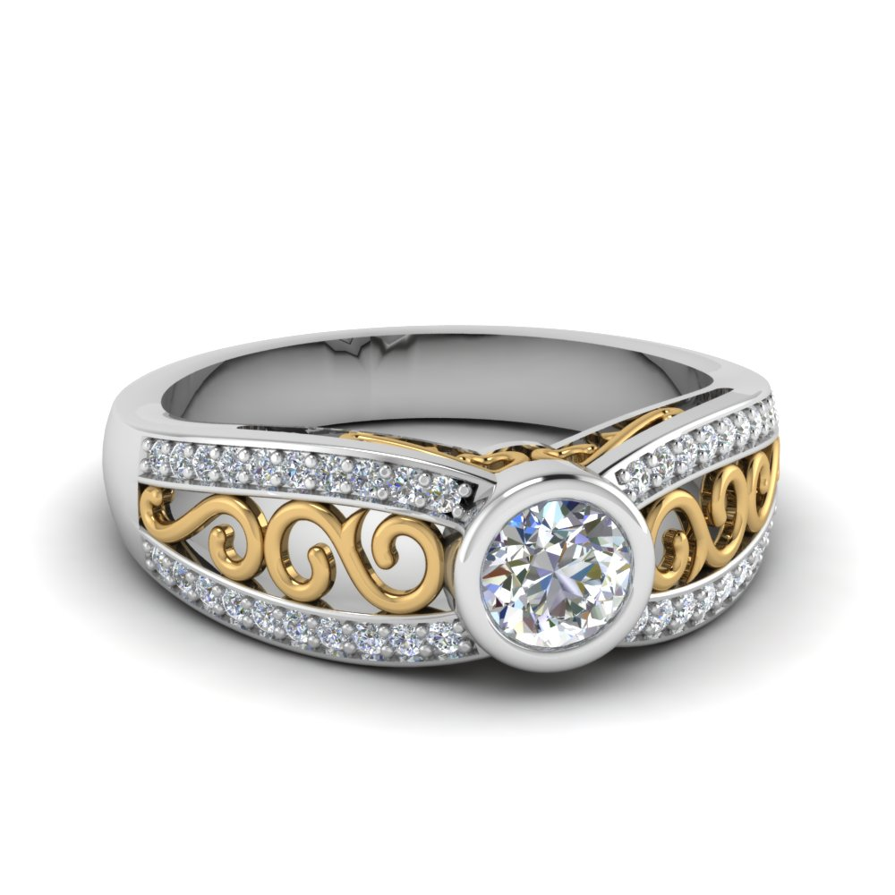 2-tone-filigree-diamond-engagement-ring-in-FD64933ROR-NL-WG