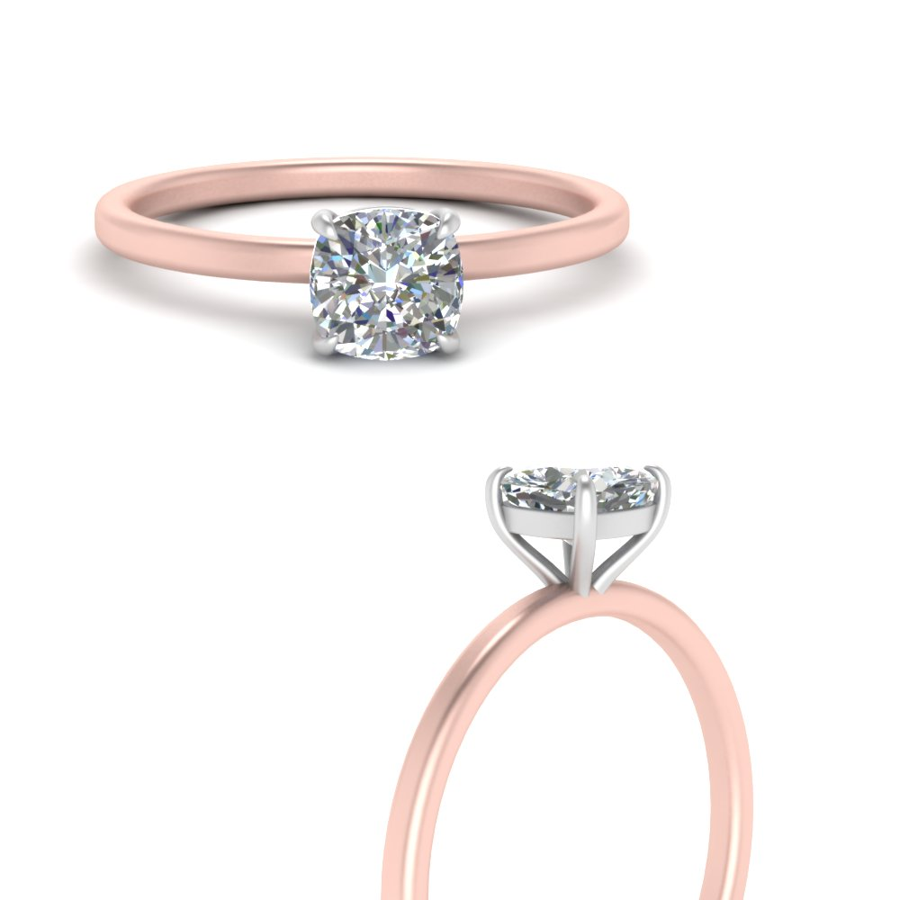 2-tone thin-cushion-cut-solitaire-engagement-ring-in-FD9358TCURANGLE3-NL-RG