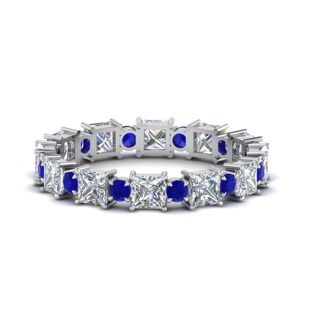 2.50-carat-art-deco-diamond-eternity-wedding-band-with-sapphire-in-FDEWB123628PR(3.00MM)GSABL-NL-WG