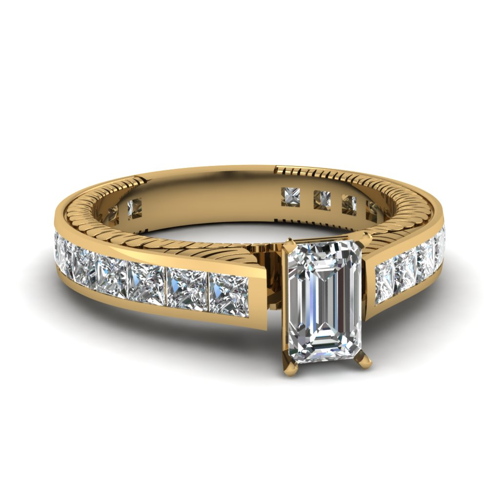 2.50 Ct. Diamond Channel Set Ring