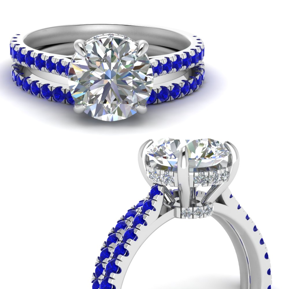3-carat-diamond-hidden-halo-bridal-ring-set-with-sapphire-in-FD9128ROGSABLANGLE3-NL-WG-GS2