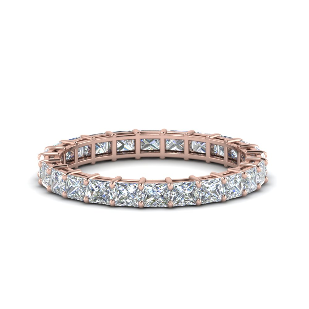 3 Ct. Princess Cut Eternity Ring