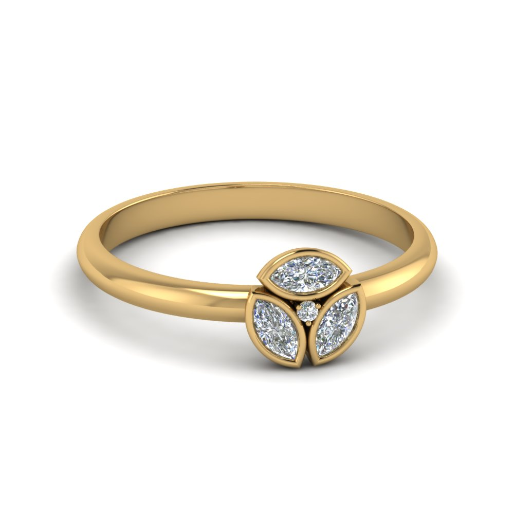 3 Marquise Diamond Ring
