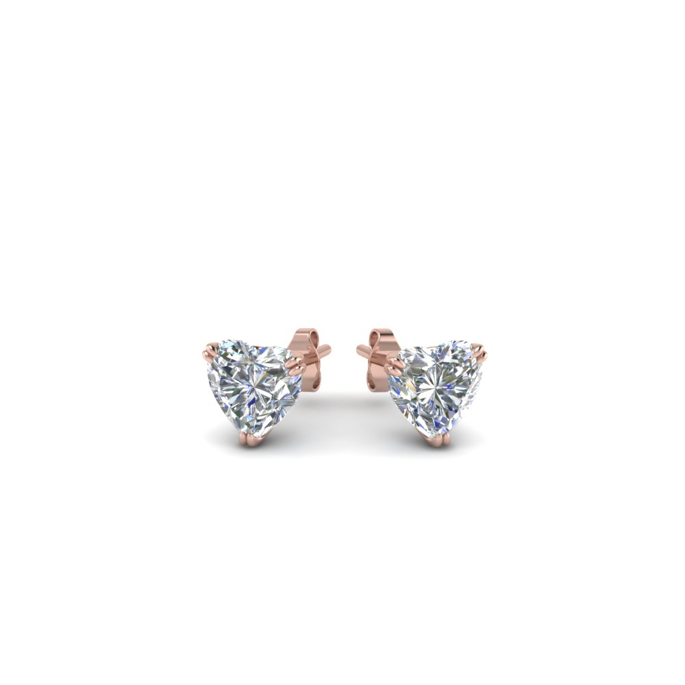 g martini vs prong ctw diamond stud platinum in earrings h