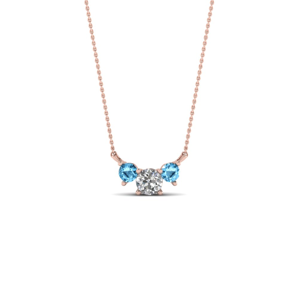 tl shop blue necklace pomellato topaz nudo jewelry f london zadok necklaces