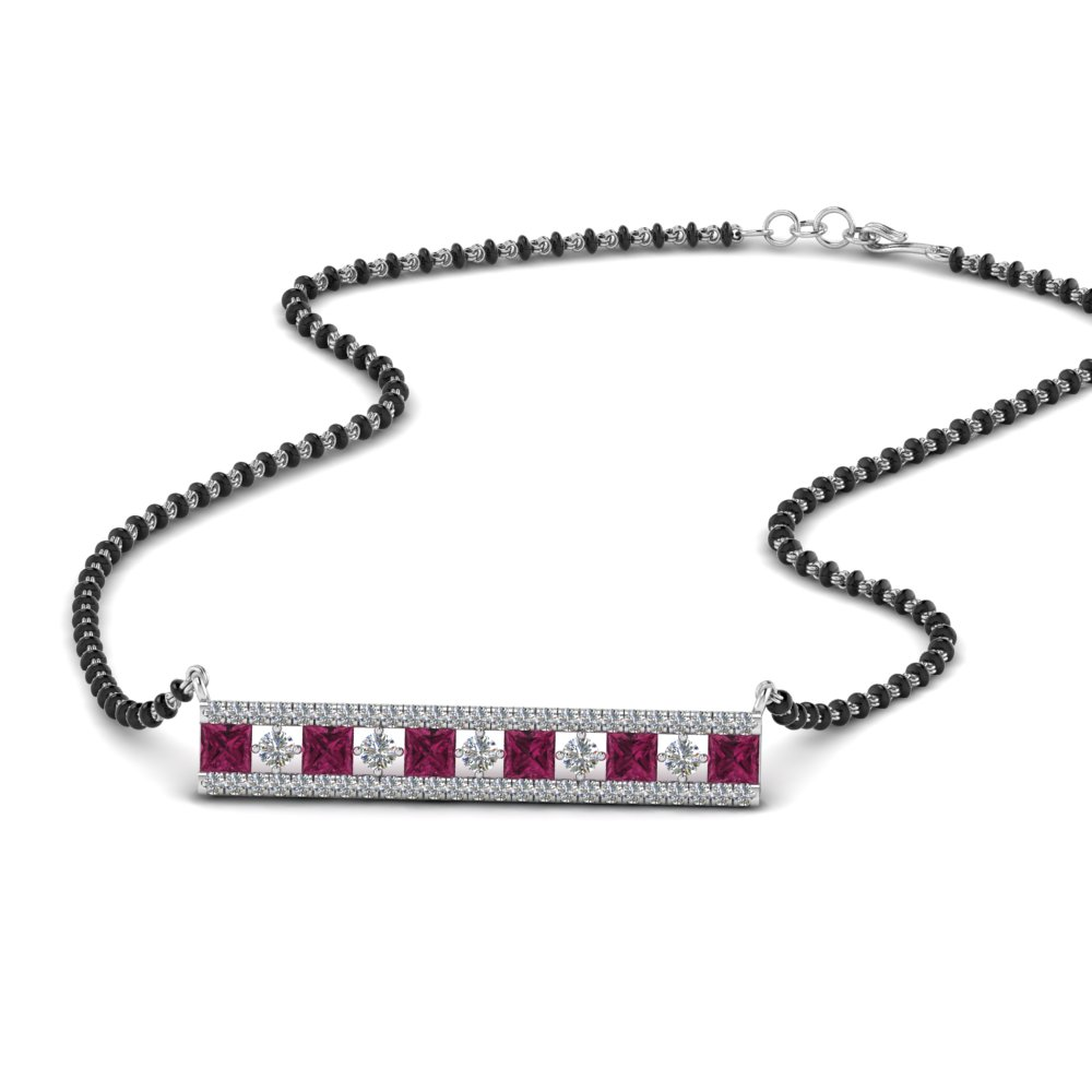 3-row-bar-diamond-mangalsutra-pendant-with-pink-sapphire-in-MGS8958GSADRPI-NL-WG