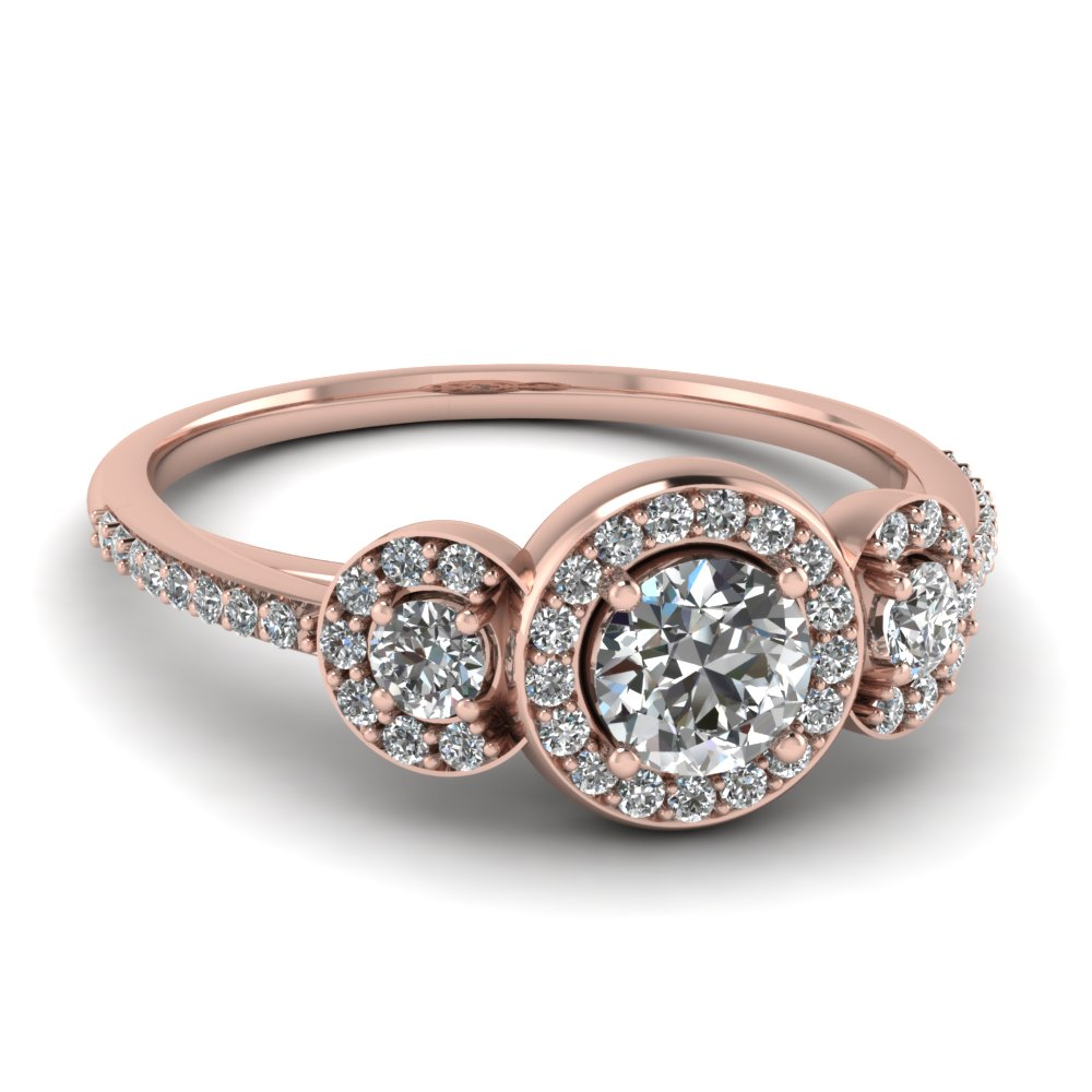 shop for vintage rose gold 14k bands and rings| fascinating diamonds