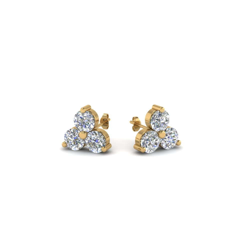 drop diamond fascinating earring rose heart in rg white stud small jewelry with nl gold