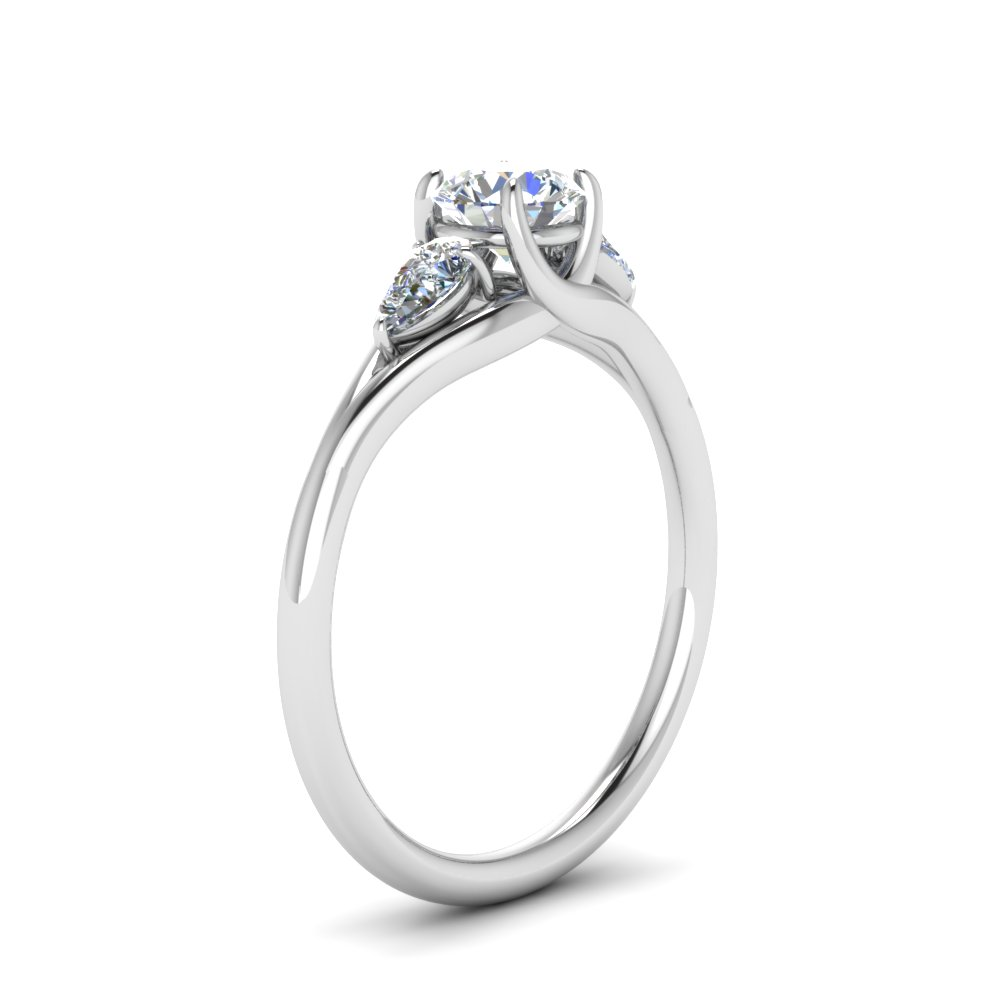platinum stone shop diamond p for rings trellis three ring in engagement