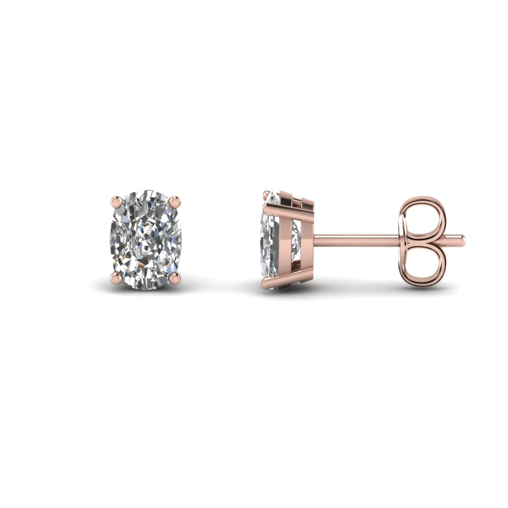 4 Carat Single Stud Earring