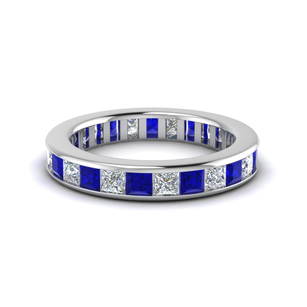 4-carat-diamond-eternity-band-for-new-mom-with-sapphire-in-FDEWB160BGSABL-NL-WG