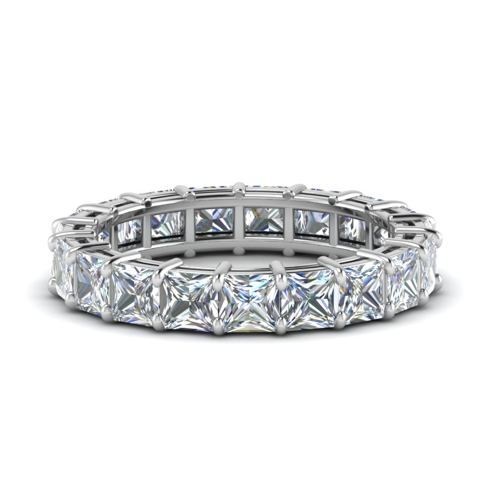 5 Ct. Princess Cut Eternity Ring
