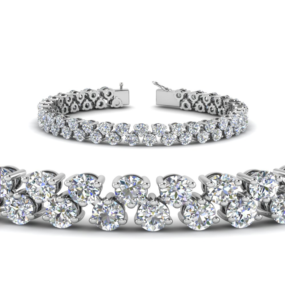 5.30 Carat Diamond Tennis Bracelet