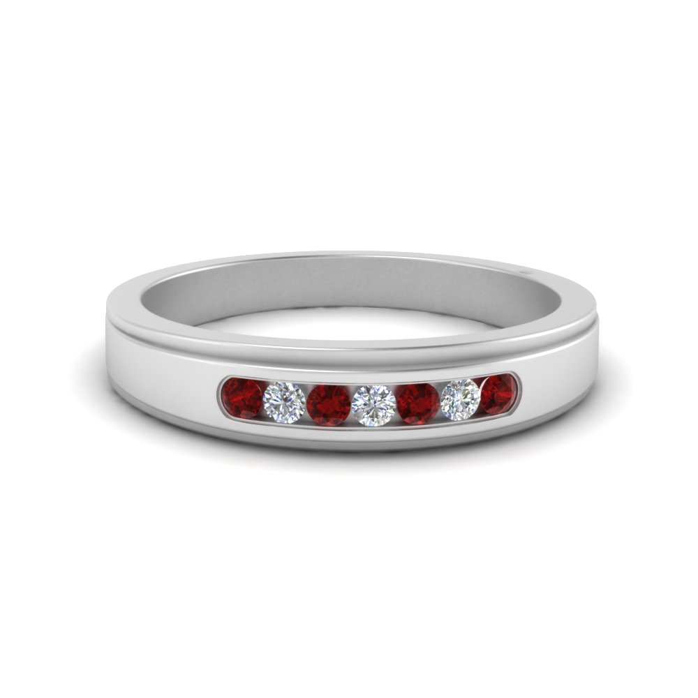 7-stone-mens-round-diamond-ring-with-ruby-in-FDM124203ROGRUDR-NL-WG