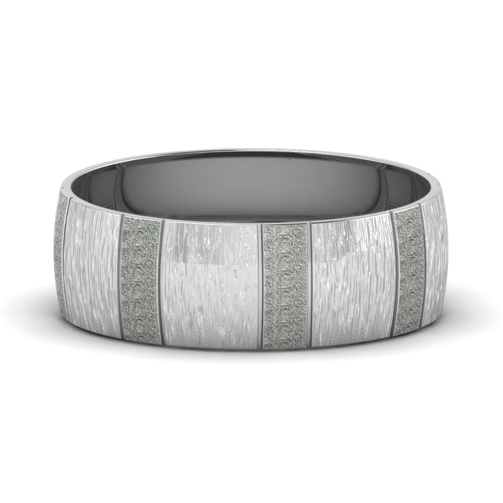 Glossy Mens Platinum Band