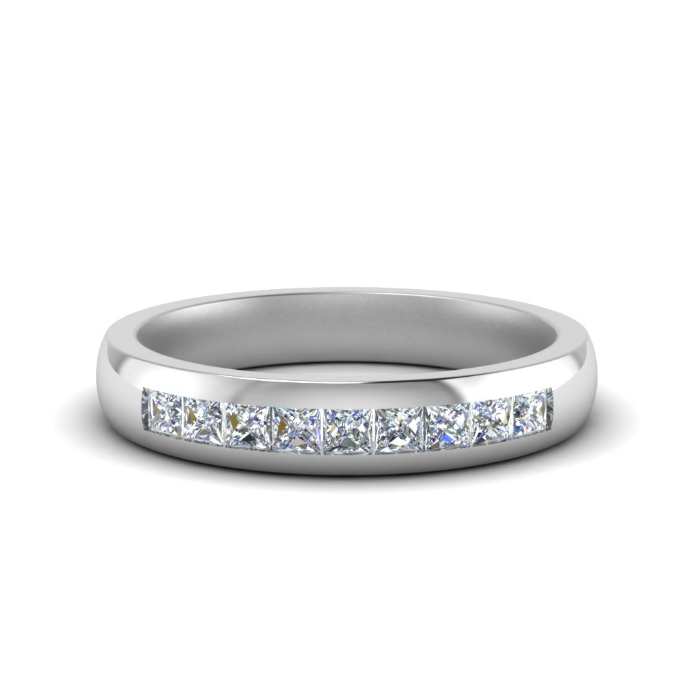 0.50 Carat 9 Stone Wedding Band