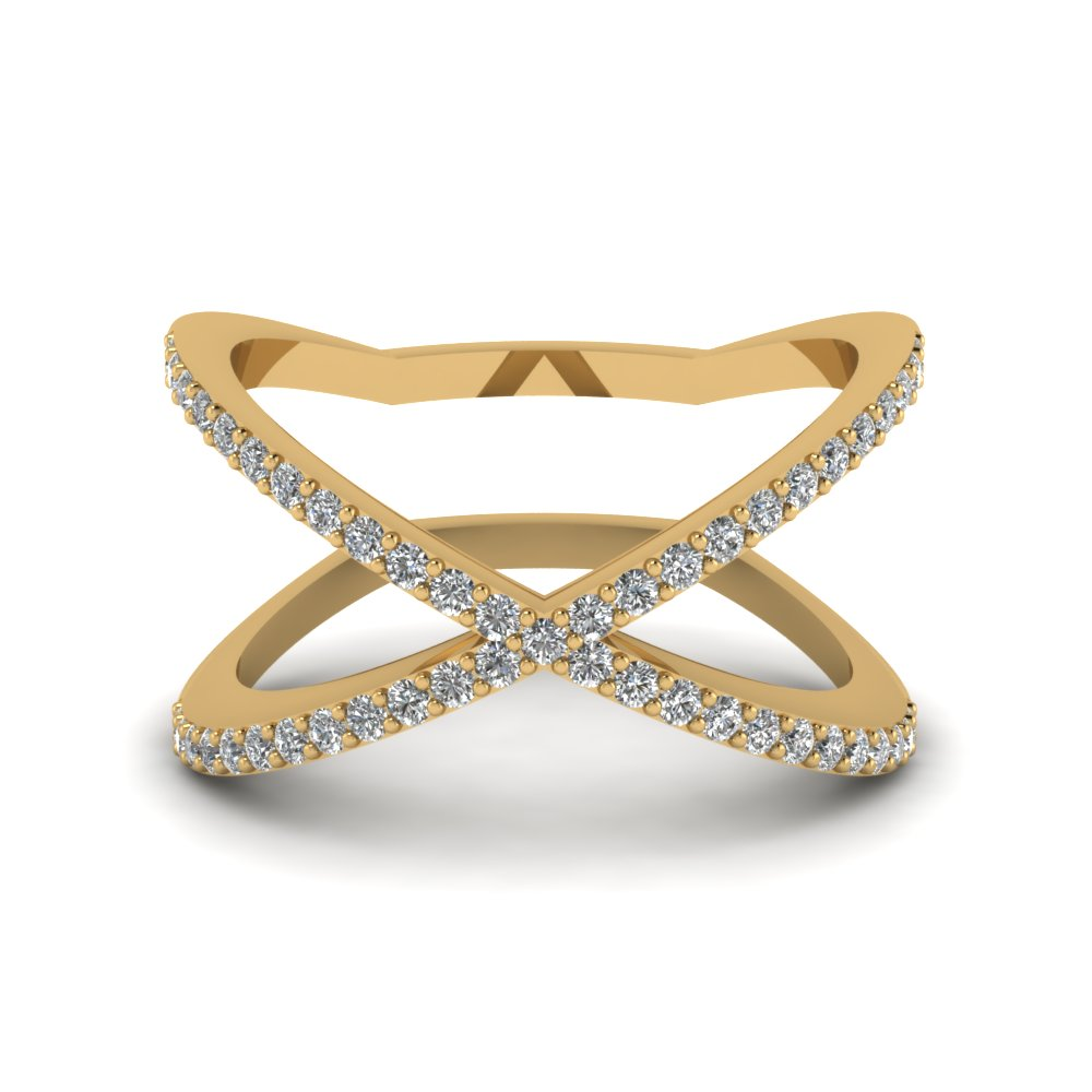 Womens Yellow Gold Wedding Bands