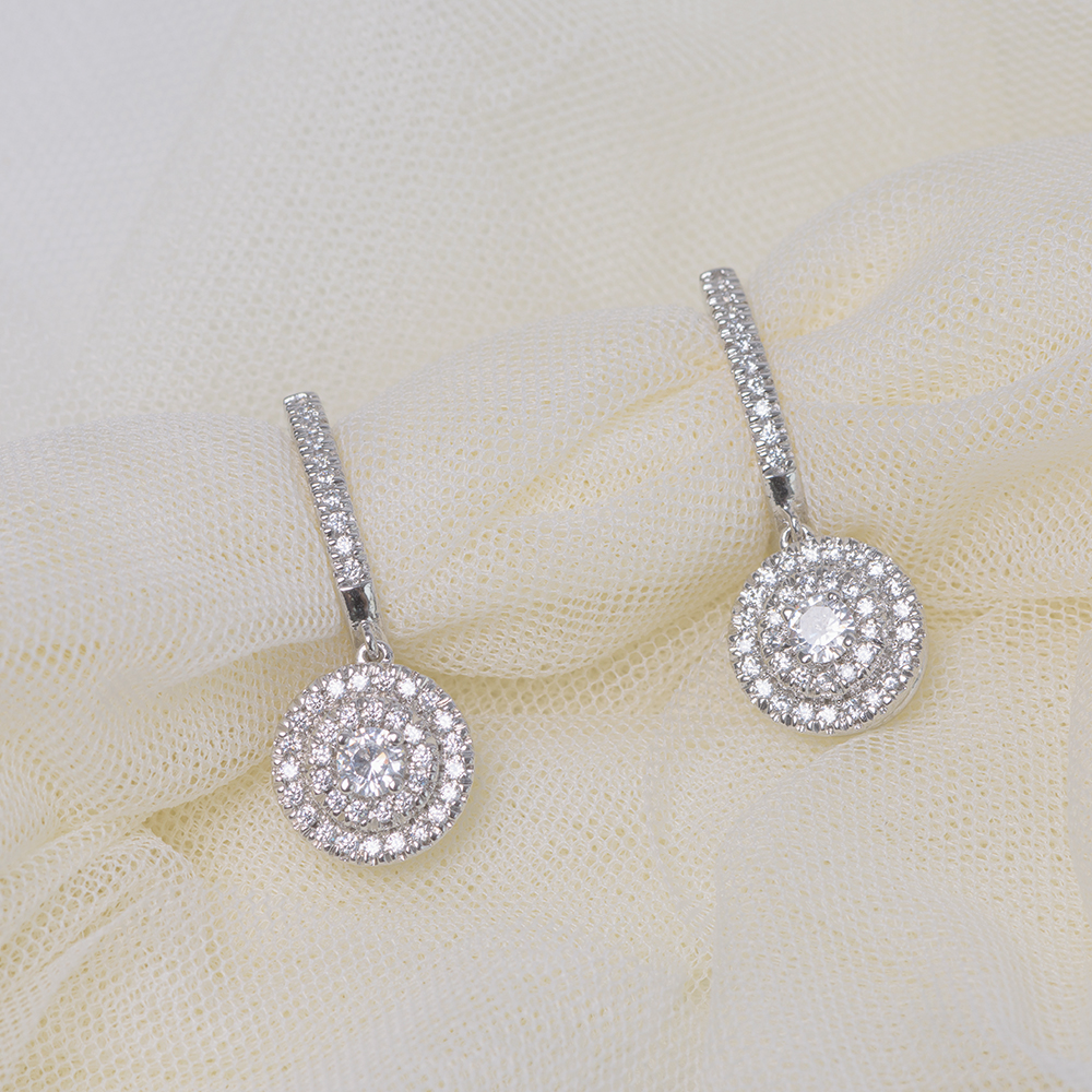 two tone hoop drop diamond earring in FDOEAR40999.jpg