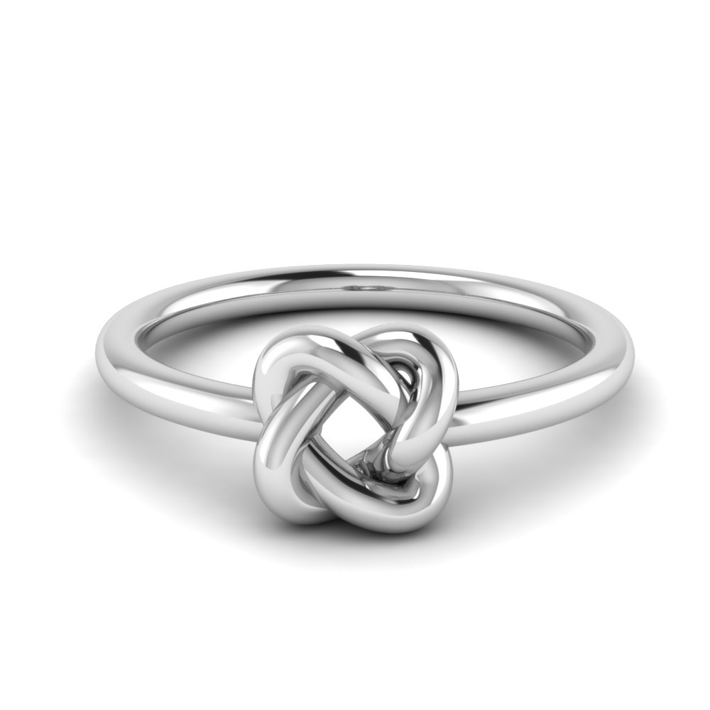 Linked Knot Wedding Ring