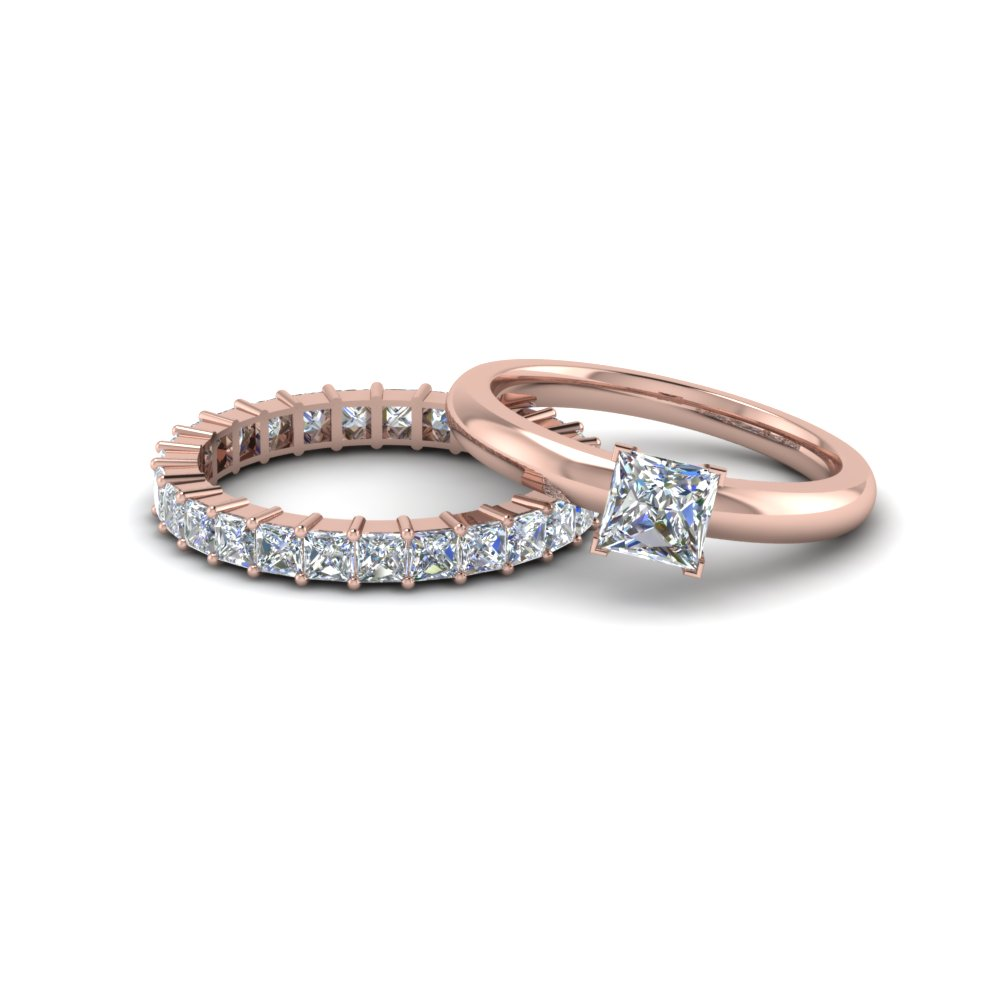 bridal prong eternity w wedding shared bands matching ring band b set engagement r product