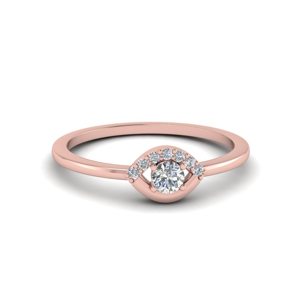 small diamond wedding anniversary ring for her in FD8004ROR NL RG