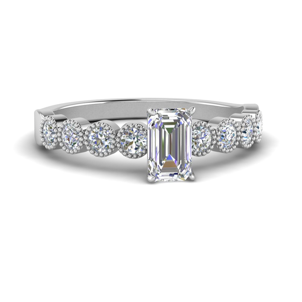 antique-bezel-set-emerald-cut-diamond-engagement-ring-in-FD9337EMR-NL-WG