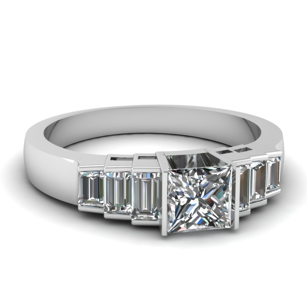 Expensive Princess Cut Diamond Ring