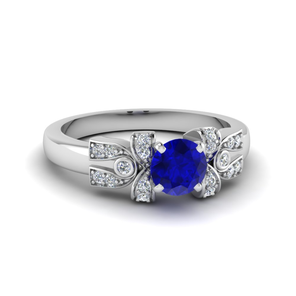 Sapphire Engagement Rings For Women Fascinating Diamonds