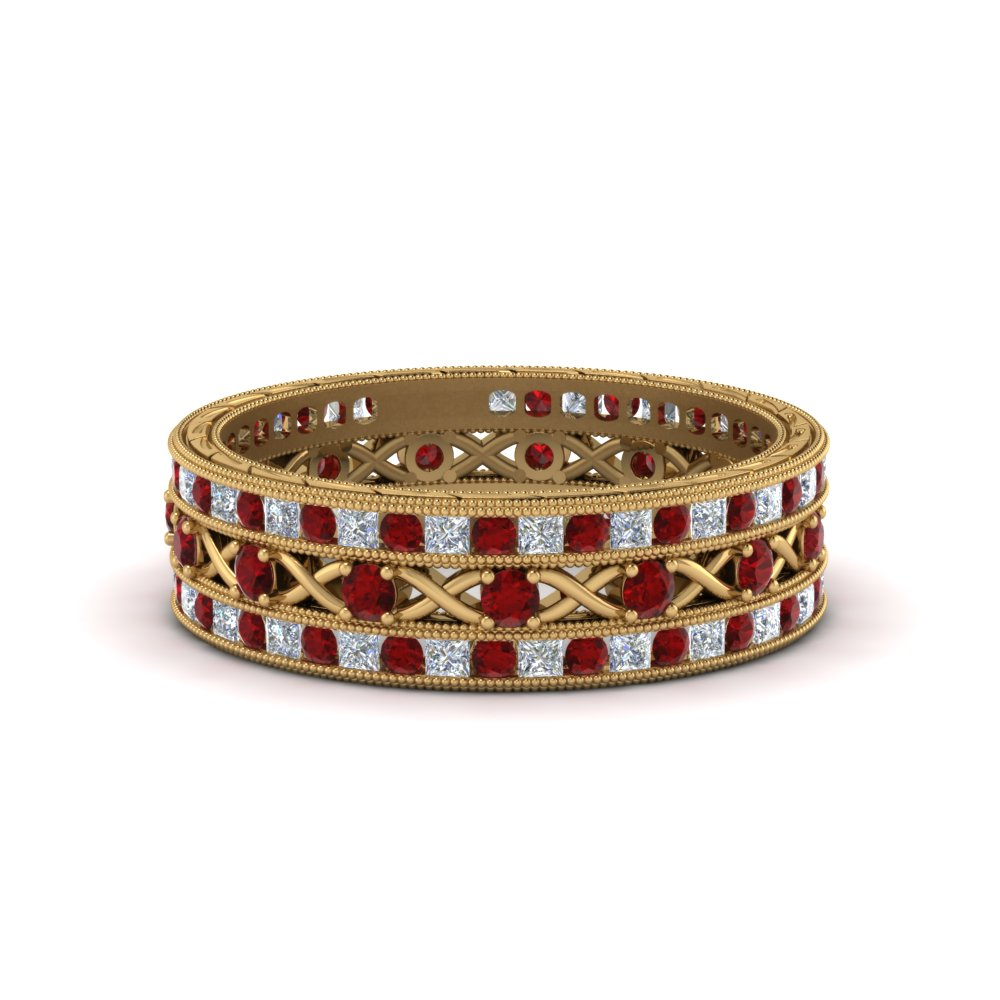antique-diamond-stackable-band-with-ruby-in-FD9117ROGRUDRANGLE3-NL-YG