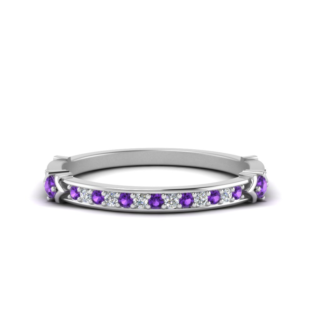 Classic Purple Topaz Band