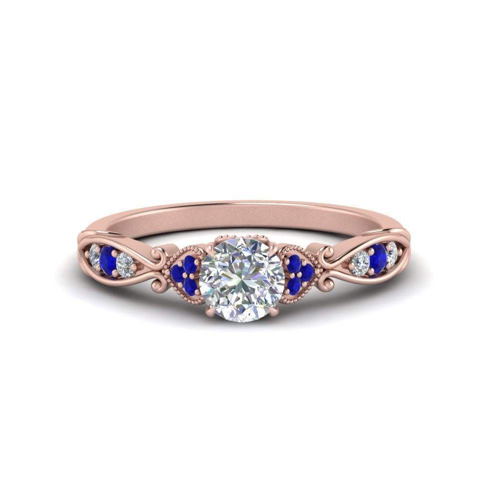 antique-pave-diamond-ring-with-sapphire-in-FD123876RORGSABL-NL-RG