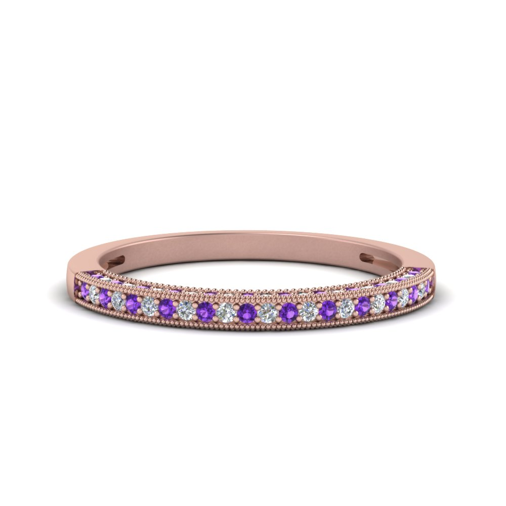 antique pave diamond wedding band with violet topaz in FDENS3130BGVITO NL RG.jpg