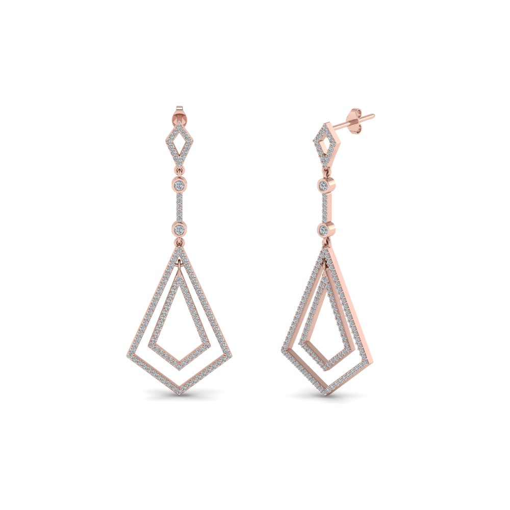 Open Dangle Drop Earring