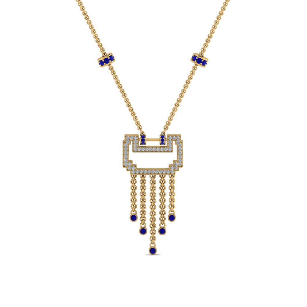 art-deco-drop-diamond-necklace-with-sapphire-in-FDPD8601GSABLANGLE1-NL-YG