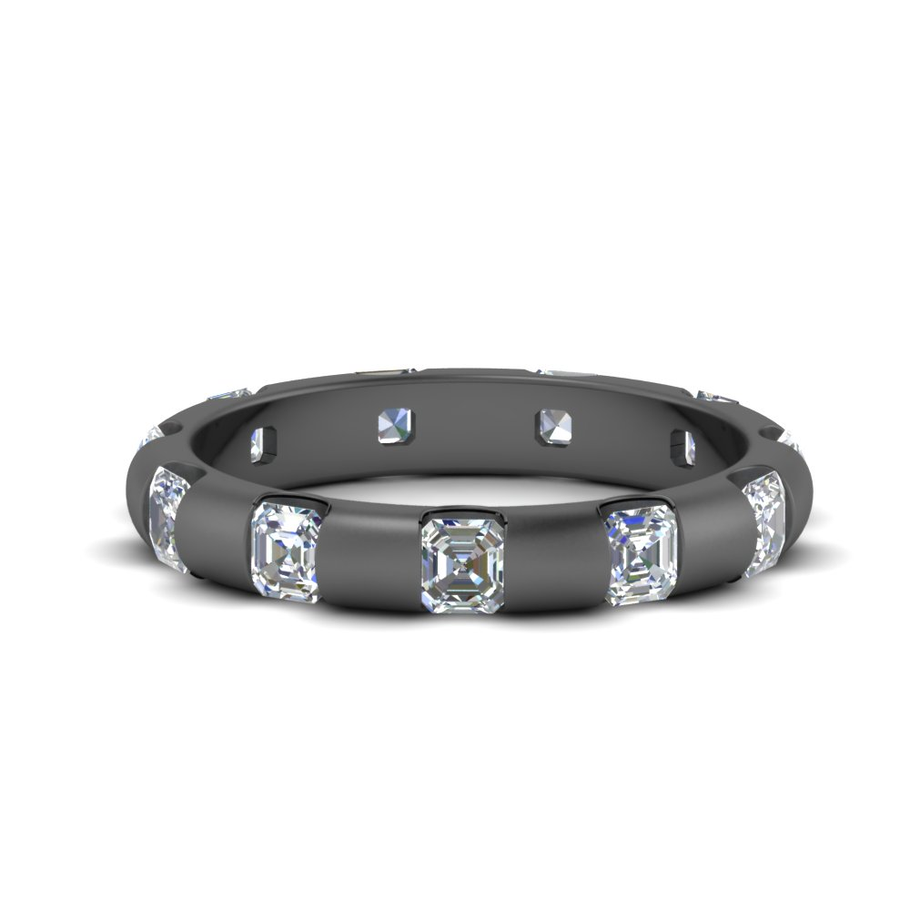 1.75 Ct. Asscher Bar Diamond Band