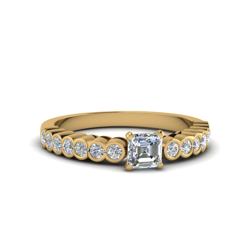 One Carat Bezel Set Ring