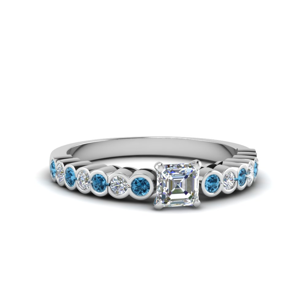 set standard in wedding white bezel pave gold platinum band wb diamond eternity