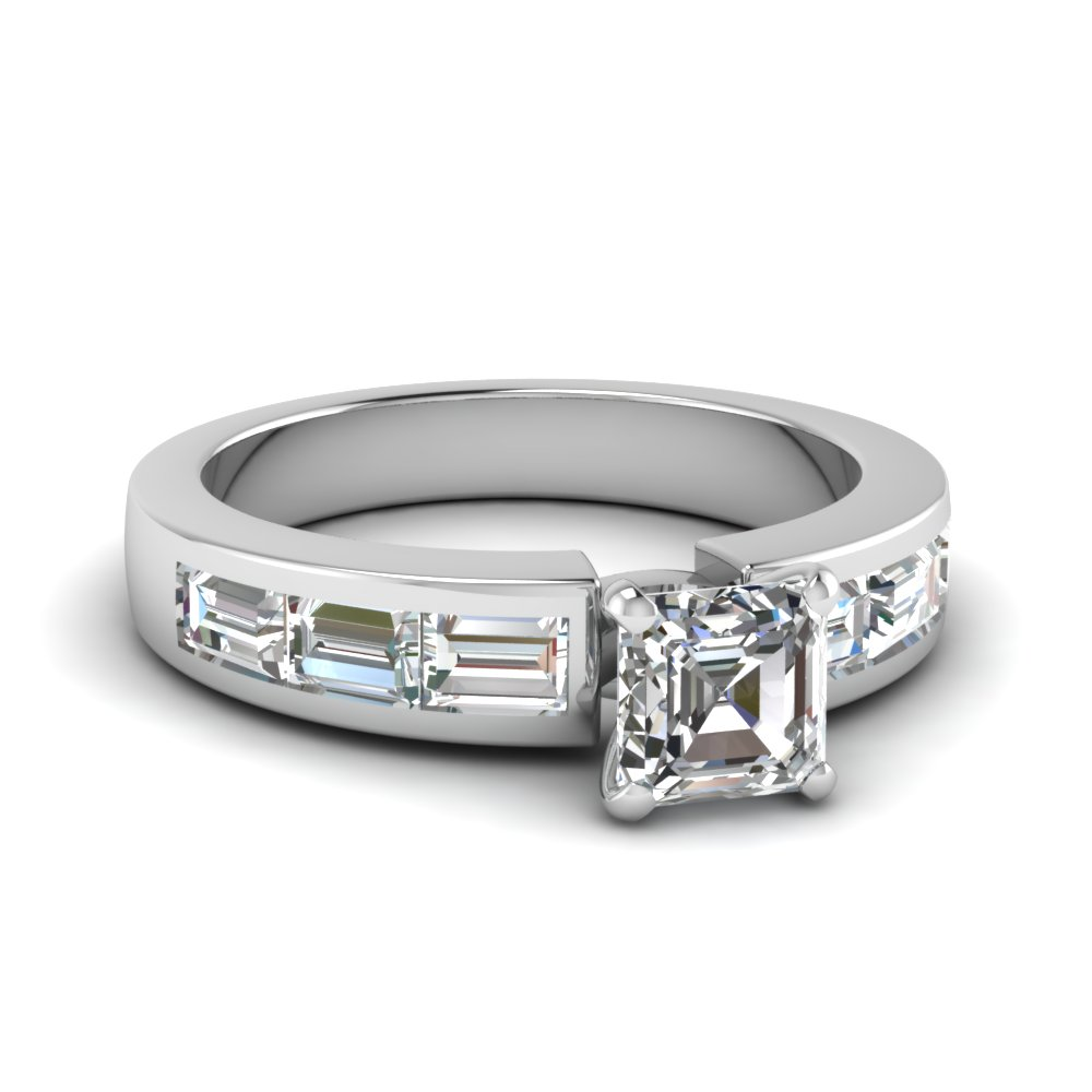 Top 20 Asscher Cut Diamond Rings