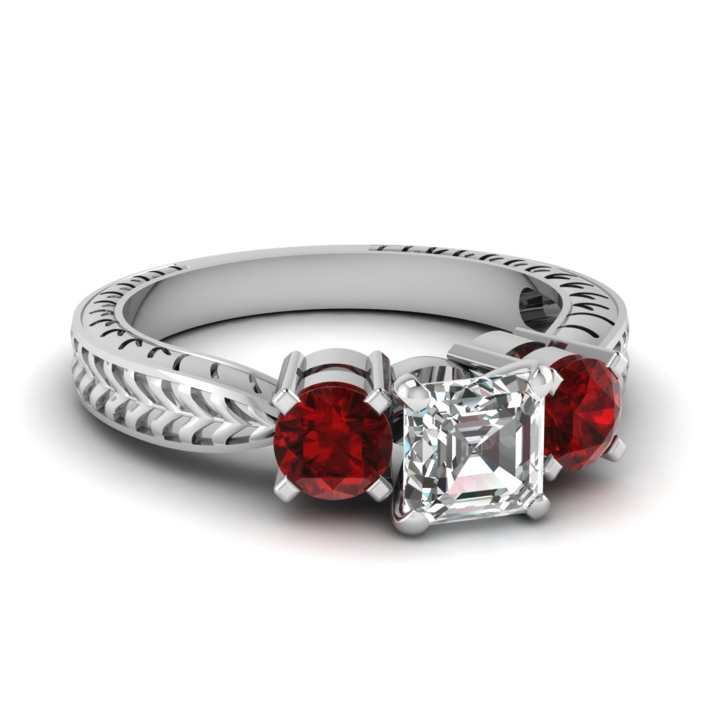 ruby vintage asscher diamond 3 stone engagement ring in FDENR1200ASRGRUDR NL WG.jpg