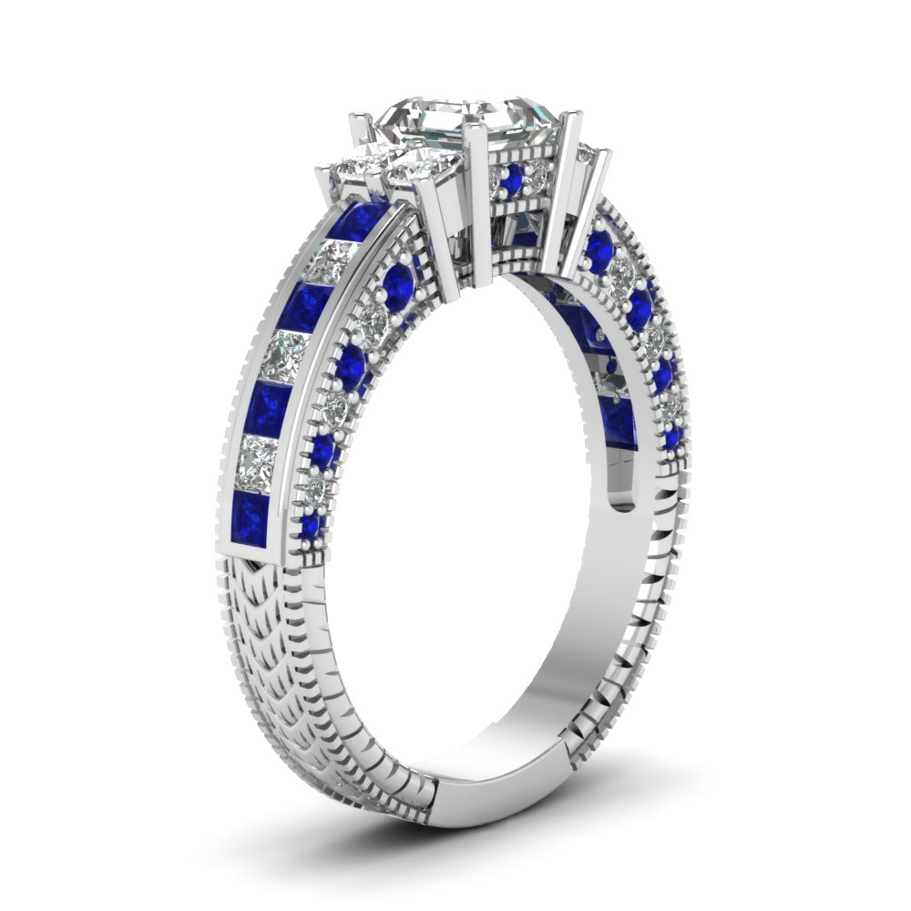 sapphire diamonds sapphires birnbaum jewels precious gems asscher cut mb savory and rarest david tailored ring