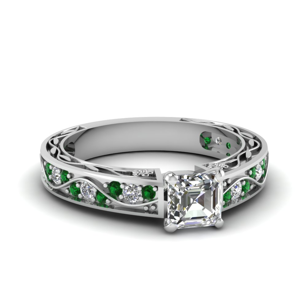 Find Our Emerald Engagement Rings