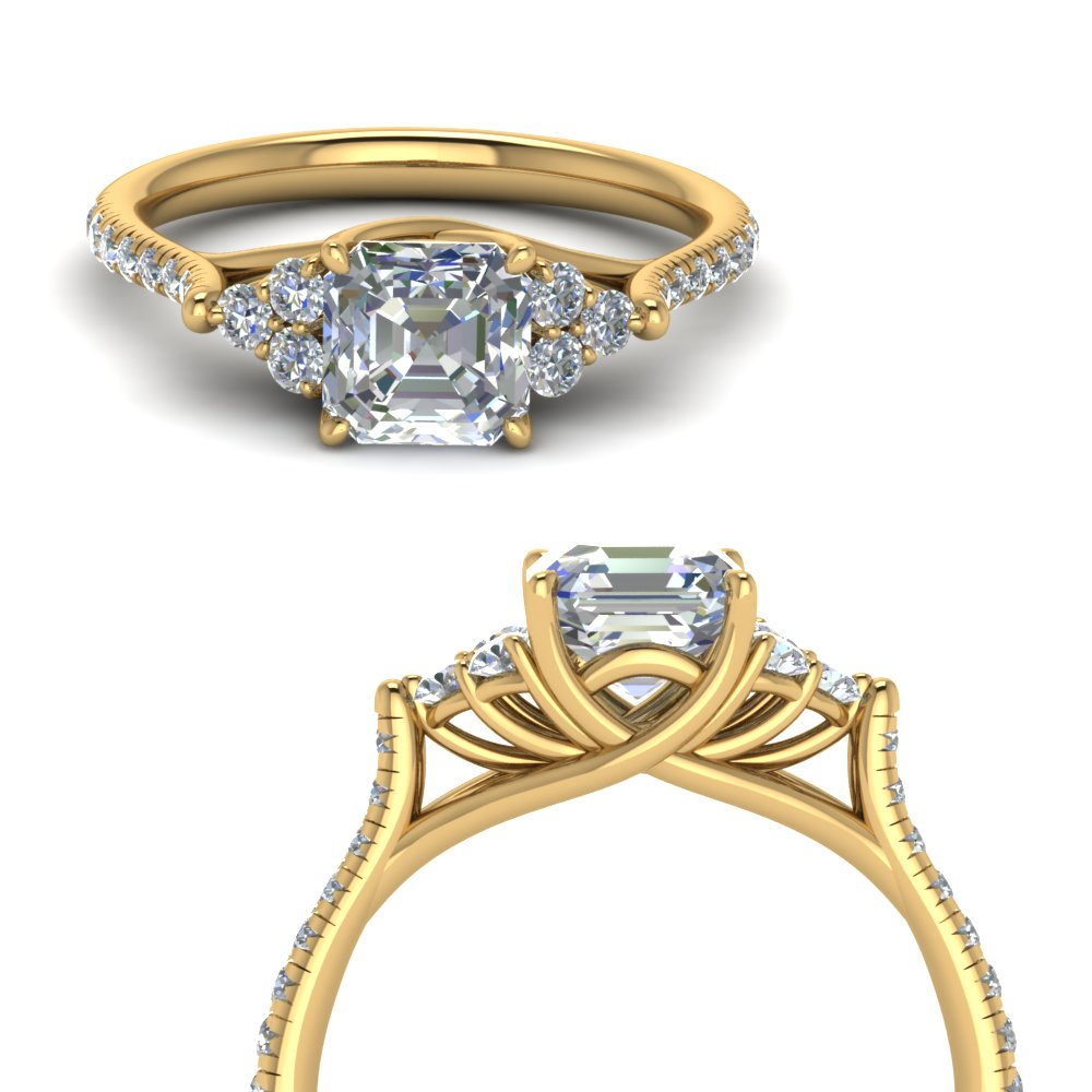 asscher-cut-petite-cathedral-diamond-engagement-ring-in-FD123457ASRANGLE3-NL-YG
