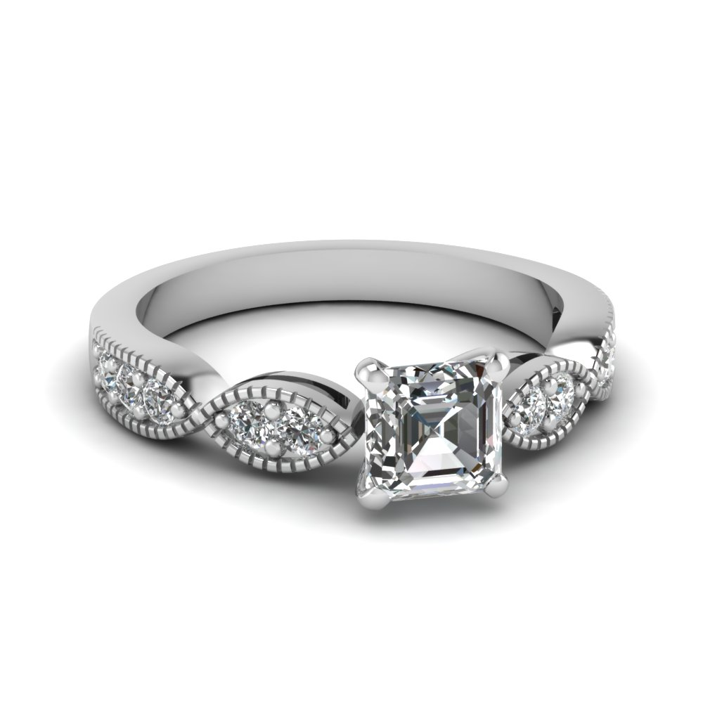 Engagement Ring For A Modern Bride