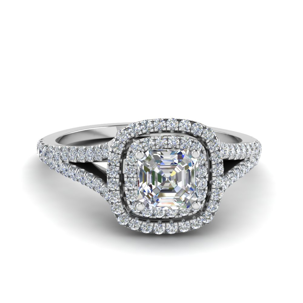 richard shank jewelry ring rings cannon white gold product mounting engagement diamond halo split in