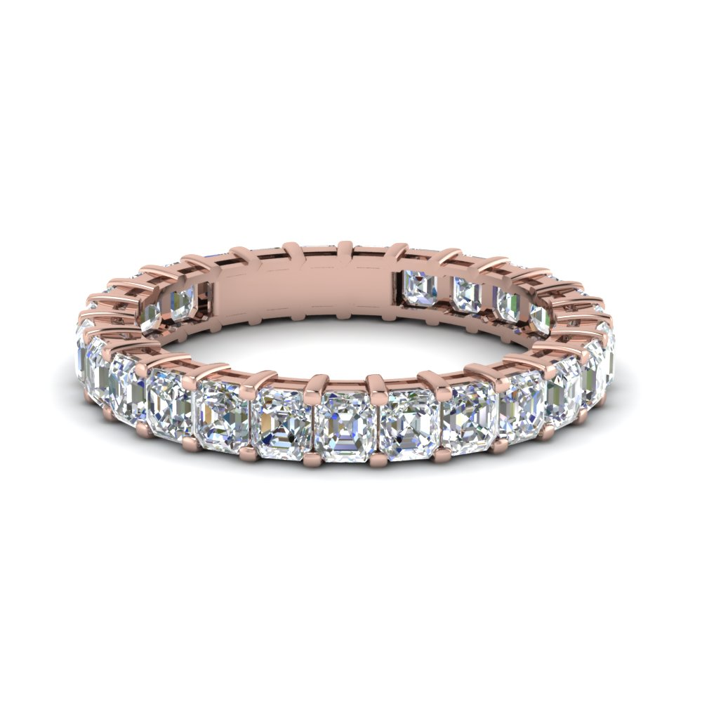 rare rose gold eternity bands fascinating diamonds. Black Bedroom Furniture Sets. Home Design Ideas