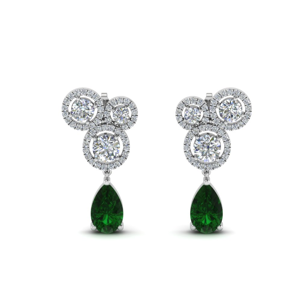 asymmetry-halo-diamond-earring-with-emerald-in-FDEAR8983GEMGRANGLE1-NL-WG